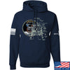 IV8888 Apollo Lunar Tech Hoodie Hoodies Small / Navy by Ballistic Ink - Made in America USA