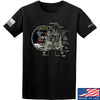IV8888 Apollo Lunar Tech T-Shirt T-Shirts Small / Black by Ballistic Ink - Made in America USA