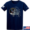 IV8888 Apollo Lunar Tech T-Shirt T-Shirts Small / Navy by Ballistic Ink - Made in America USA