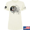 IV8888 Ladies Apollo Lunar Tech T-Shirt T-Shirts SMALL / Cream by Ballistic Ink - Made in America USA