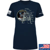 IV8888 Ladies Apollo Lunar Tech T-Shirt T-Shirts SMALL / Navy by Ballistic Ink - Made in America USA