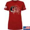 IV8888 Ladies Apollo Lunar Tech T-Shirt T-Shirts SMALL / Red by Ballistic Ink - Made in America USA