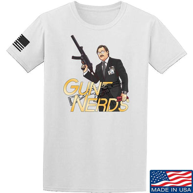 Office Space Gun Nerd T-Shirt [IV8888]