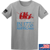 IV8888 1773 vs 1776 T-Shirt T-Shirts Small / Light Gray by Ballistic Ink - Made in America USA