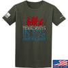 IV8888 1773 vs 1776 T-Shirt T-Shirts Small / Military Green by Ballistic Ink - Made in America USA