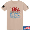 IV8888 1773 vs 1776 T-Shirt T-Shirts Small / Sand by Ballistic Ink - Made in America USA
