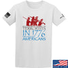 IV8888 1773 vs 1776 T-Shirt T-Shirts Small / White by Ballistic Ink - Made in America USA