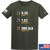IV8888 300 BLK T-Shirt T-Shirts Small / Military Green by Ballistic Ink - Made in America USA