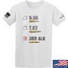 IV8888 300 BLK T-Shirt T-Shirts Small / White by Ballistic Ink - Made in America USA