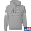IV8888 Three Percenter Hoodie Hoodies Small / Light Grey by Ballistic Ink - Made in America USA
