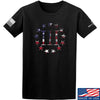 IV8888 Three Percenter T-Shirt T-Shirts Small / Black by Ballistic Ink - Made in America USA