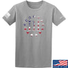 IV8888 Three Percenter T-Shirt T-Shirts Small / Light Grey by Ballistic Ink - Made in America USA