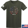 IV8888 Three Percenter T-Shirt T-Shirts Small / Military Green by Ballistic Ink - Made in America USA