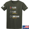 IV8888 5.56 T-Shirt T-Shirts Small / Military Green by Ballistic Ink - Made in America USA