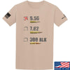 IV8888 5.56 T-Shirt T-Shirts Small / Sand by Ballistic Ink - Made in America USA