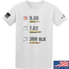IV8888 5.56 T-Shirt T-Shirts Small / White by Ballistic Ink - Made in America USA