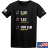 IV8888 7.62 T-Shirt T-Shirts Small / Black by Ballistic Ink - Made in America USA