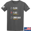 IV8888 7.62 T-Shirt T-Shirts Small / Charcoal by Ballistic Ink - Made in America USA