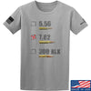 IV8888 7.62 T-Shirt T-Shirts Small / Light Grey by Ballistic Ink - Made in America USA