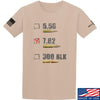 IV8888 7.62 T-Shirt T-Shirts Small / Sand by Ballistic Ink - Made in America USA