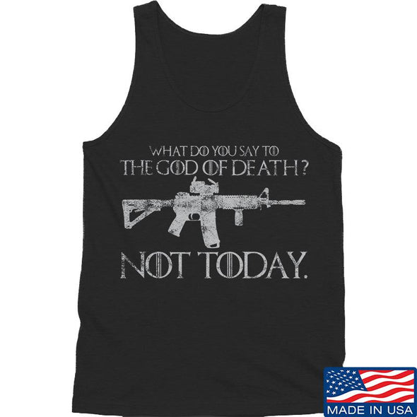 IV8888 AR15 Not Today Tank Tanks SMALL / Black by Ballistic Ink - Made in America USA