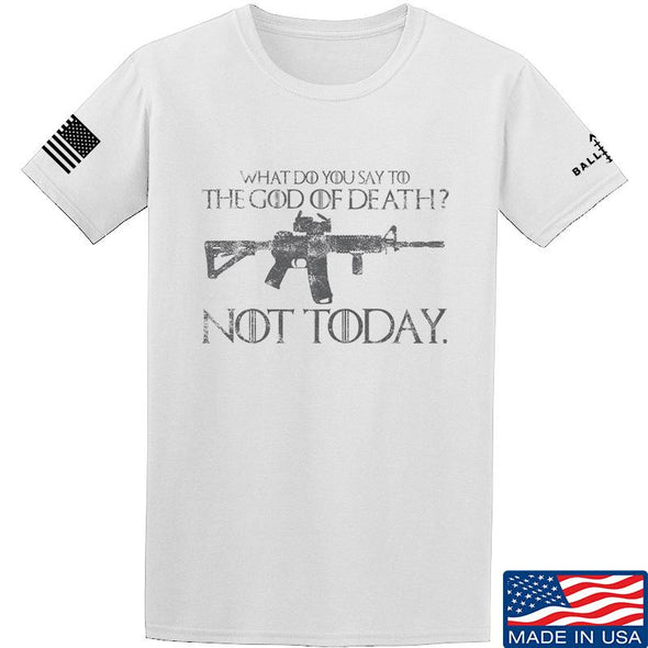 IV8888 AR15 Not Today T-Shirt T-Shirts Small / White by Ballistic Ink - Made in America USA