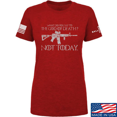 IV8888 Ladies AR15 Not Today T-Shirt T-Shirts [variant_title] by Ballistic Ink - Made in America USA