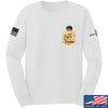 IV8888 AnTiFreedom (false) Pocket Long Sleeve T-Shirt Long Sleeve Small / White by Ballistic Ink - Made in America USA