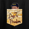 IV8888 AnTiFreedom (false) Pocket Long Sleeve T-Shirt Long Sleeve [variant_title] by Ballistic Ink - Made in America USA