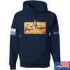 IV8888 ATF (AnTiFreedom) Hoodie Hoodies Small / Navy by Ballistic Ink - Made in America USA