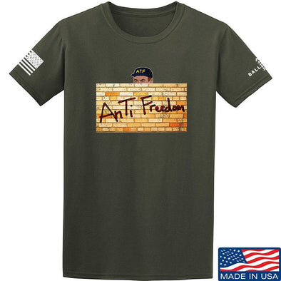 IV8888 ATF (AnTiFreedom) T-Shirt T-Shirts Small / Military Green by Ballistic Ink - Made in America USA