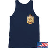 IV8888 AnTiFreedom (false) Pocket Tank Tanks SMALL / Navy by Ballistic Ink - Made in America USA