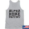 IV8888 Alpha Mike Foxtrot Tank Tanks SMALL / Light Grey by Ballistic Ink - Made in America USA