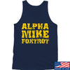 IV8888 Alpha Mike Foxtrot Tank Tanks SMALL / Navy by Ballistic Ink - Made in America USA