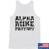 IV8888 Alpha Mike Foxtrot Tank Tanks SMALL / White by Ballistic Ink - Made in America USA