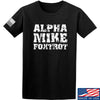 IV8888 Alpha Mike Foxtrot T-Shirt T-Shirts Small / Black by Ballistic Ink - Made in America USA