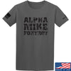 IV8888 Alpha Mike Foxtrot T-Shirt T-Shirts Small / Charcoal by Ballistic Ink - Made in America USA