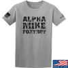 IV8888 Alpha Mike Foxtrot T-Shirt T-Shirts Small / Light Grey by Ballistic Ink - Made in America USA