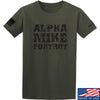 IV8888 Alpha Mike Foxtrot T-Shirt T-Shirts Small / Military Green by Ballistic Ink - Made in America USA