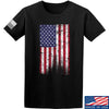 IV8888 Distressed Flag T-Shirt T-Shirts Small / Black by Ballistic Ink - Made in America USA