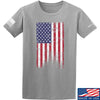 IV8888 Distressed Flag T-Shirt T-Shirts Small / Light Grey by Ballistic Ink - Made in America USA