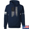 IV8888 Thin Blue Line Hoodie Hoodies Small / Navy by Ballistic Ink - Made in America USA
