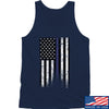 IV8888 Thin Blue Line Tank Tanks SMALL / Navy by Ballistic Ink - Made in America USA