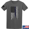 IV8888 Thin Blue Line T-Shirt T-Shirts Small / Charcoal by Ballistic Ink - Made in America USA