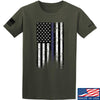 IV8888 Thin Blue Line T-Shirt T-Shirts Small / Military Green by Ballistic Ink - Made in America USA