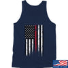 IV8888 Thin Red Line Tank Tanks SMALL / Navy by Ballistic Ink - Made in America USA