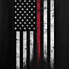 IV8888 Thin Red Line Long Sleeve T-Shirt Long Sleeve [variant_title] by Ballistic Ink - Made in America USA