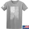 IV8888 Distressed White Flag T-Shirt T-Shirts Small / Light Grey by Ballistic Ink - Made in America USA