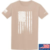 IV8888 Distressed White Flag T-Shirt T-Shirts Small / Sand by Ballistic Ink - Made in America USA