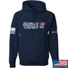 IV8888 Bush Cheney Hoodie Hoodies Small / Navy by Ballistic Ink - Made in America USA